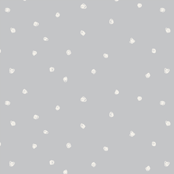 Squiggle Dots in Lunar Gray
