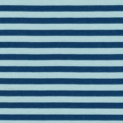 Stripe Jersey Knit in Blue