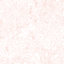 Paperie in Jungle Pink on White