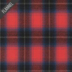 Mammoth Faded Check Flannel in Americana