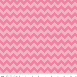 Small Chevron Tone on Tone Knit in Hot Pink