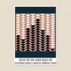 Geese on the Lawn Quilt Kit
