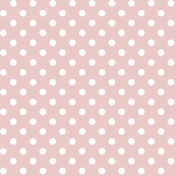 Candy Dot in Blush