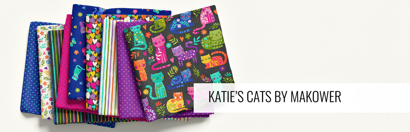 Katie's Cats by Makower UK
