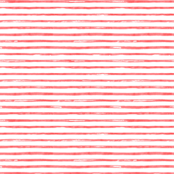 Small Watercolor Stripes in Peppermint