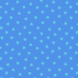 Heart of Glass in Dusty Blue