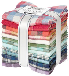 Mammoth Organic Flannel Fat Quarter Bundle