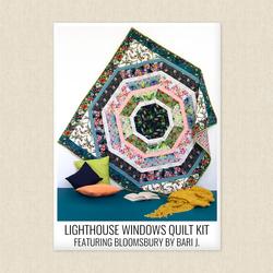 Lighthouse Windows Quilt Kit