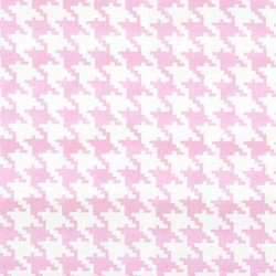Everyday Houndstooth in Rose