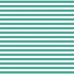 Horizontal Dress Stripe in Jade