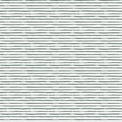 Little Watercolor Stripes in Dusty Jade