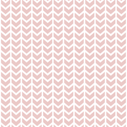 Broken Chevron in Blush