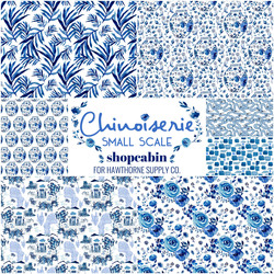 Chinoiserie Fat Quarter Bundle Small Scale