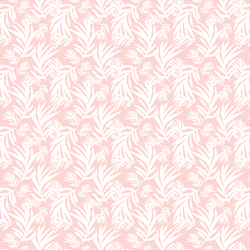 Palm Fronds in Powder Pink