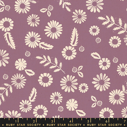 Daisy in Lilac Unbleached