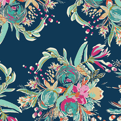 Coquet Bouquet Rayon in Splendid