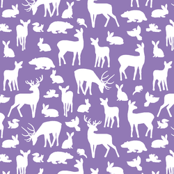 Forest Friends in Amethyst