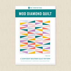 Mod Diamond Quilt