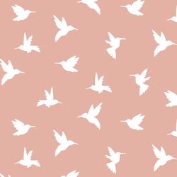 Hummingbird Silhouette in Quartz