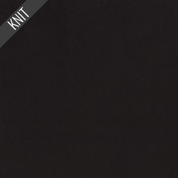 Scuba Suede Knit in Black