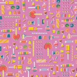 Retro Candy in Pink