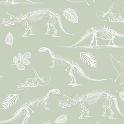Fossils in Succulent Green