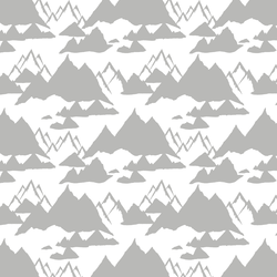Snowy Mountains in Pebble