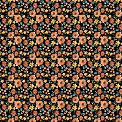 Mini Pumpkin Spice Sunflowers in Night