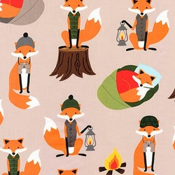 Camping Foxes in Earth