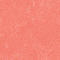 Paperie in Bright Coral