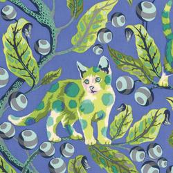 Disco Kitty in Blue Bird