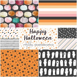 Happy Halloween Fat Quarter Bundle