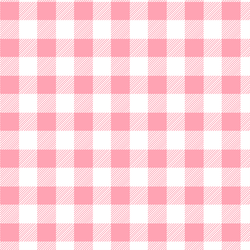 Medium Buffalo Plaid in Rose Pink