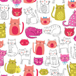 Kitty Cats in Pink