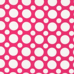 Large Spots in Hot Pink