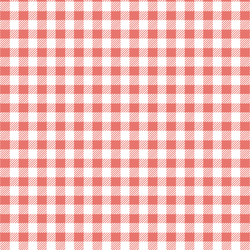 Small Buffalo Plaid in Living Coral