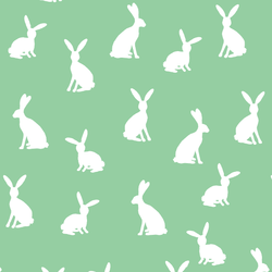 Cottontail Silhouette in Sprout