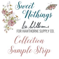 Sweet Nothings Sample Strip