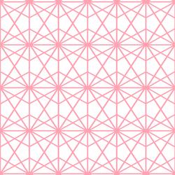 Terrarium in Rose Pink on White