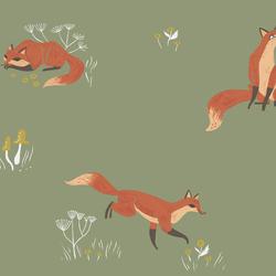 Fox in Aloe