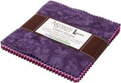 Artisan Batiks: Prisma Dyes, Plum Perfect colorstory Charm Pack