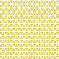 Triangles Knit in Citron