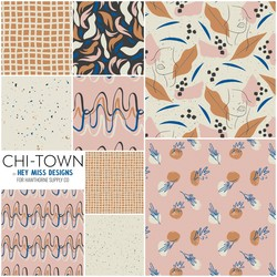 Chi Town Fat Quarter Bundle in PM