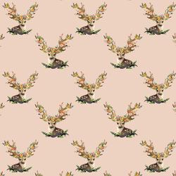 Small Meadow Deer in Shell