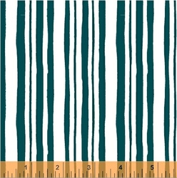 Stripes in Teal