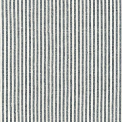 Small Stripe Yarn Dyed Woven in Indigo