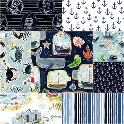 High Seas Fat Quarter Bundle