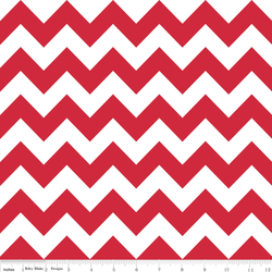 Medium Chevron in Red