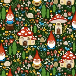 Gnome Garden in Green