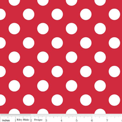 Medium Dots in Red